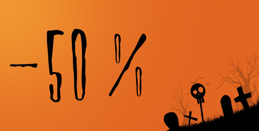 Happy Halloween Sale!