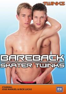 Bareback Skater Twinks DVD - Front