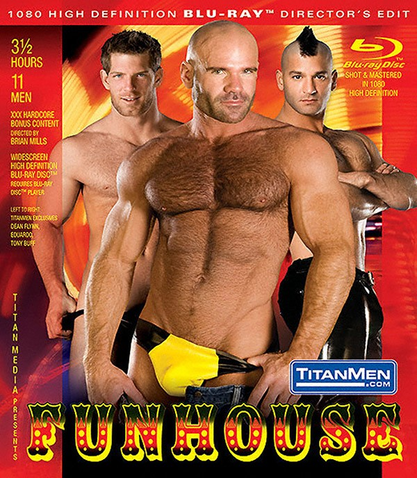 Funhouse BLU-RAY - Front