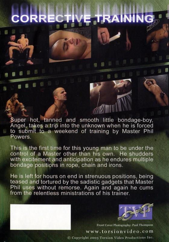 Corrective Training DVD - Back