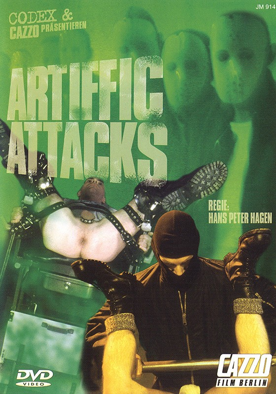 Artiffic Attacks DVD - Front
