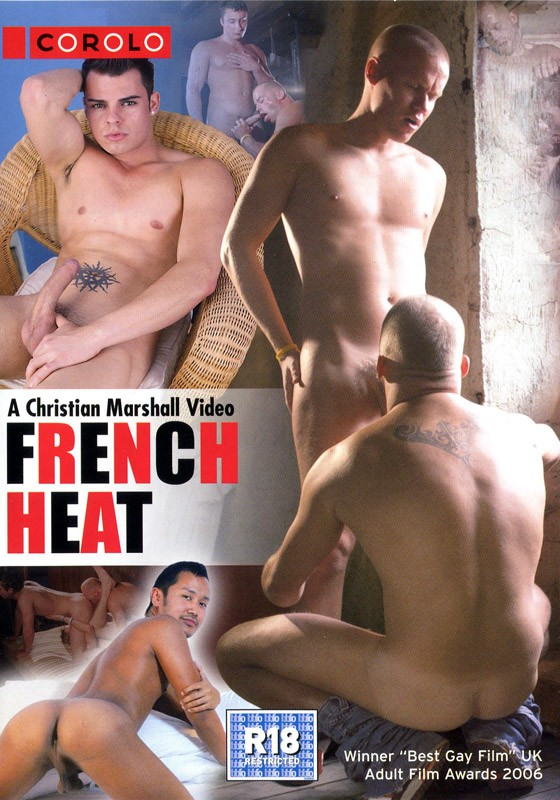 French Heat DVD - Front
