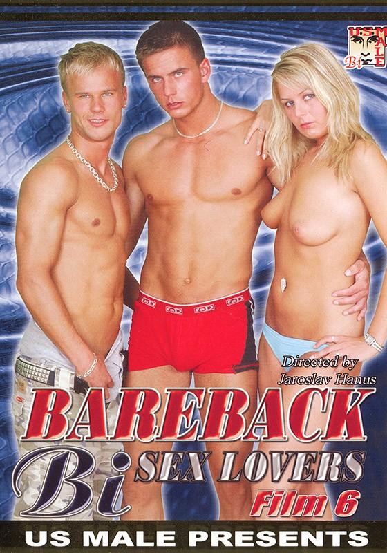 Bareback Bi Sex Lovers #6 DVD - Front