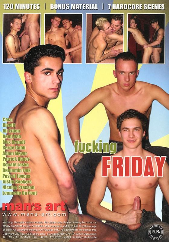 Fucking Friday DVD - Back