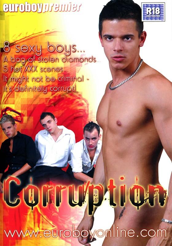 Corruption DVD - Front