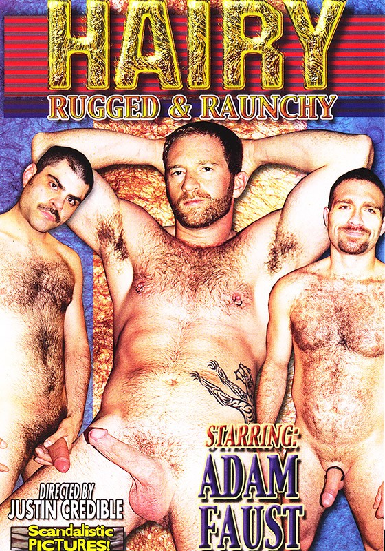 Hairy, Rugged & Raunchy DVD - Front