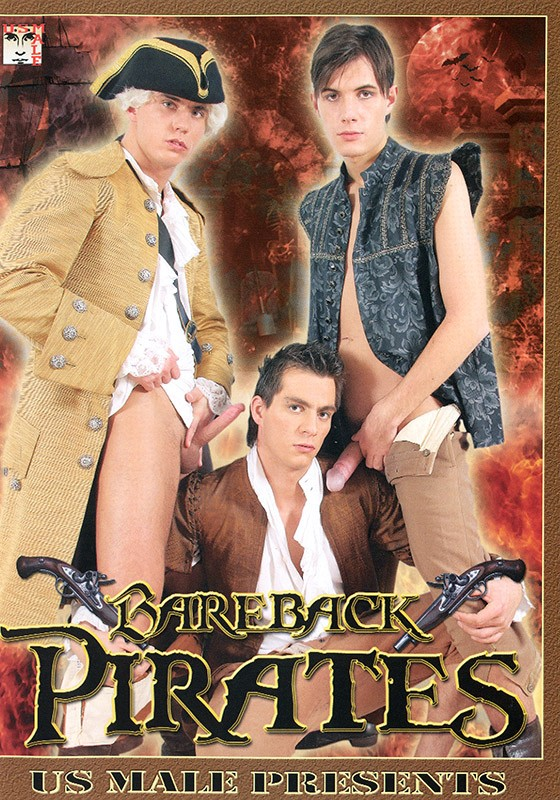 Bareback Pirates DVD - Front