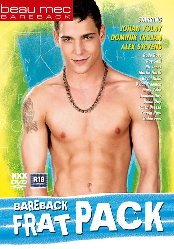 Bareback Frat Pack DVD - Front