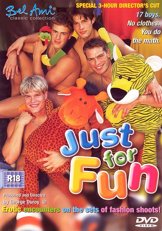 Just for Fun DVD - Front