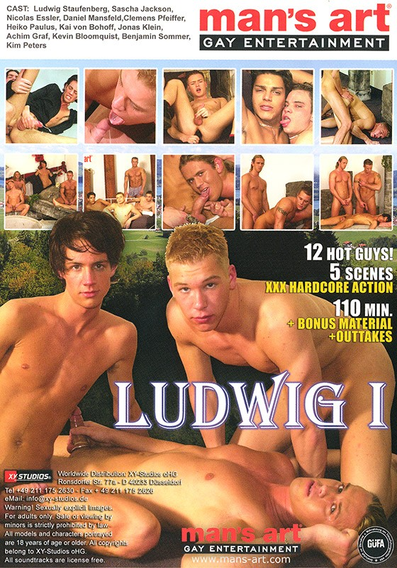 Ludwig I DVD - Back