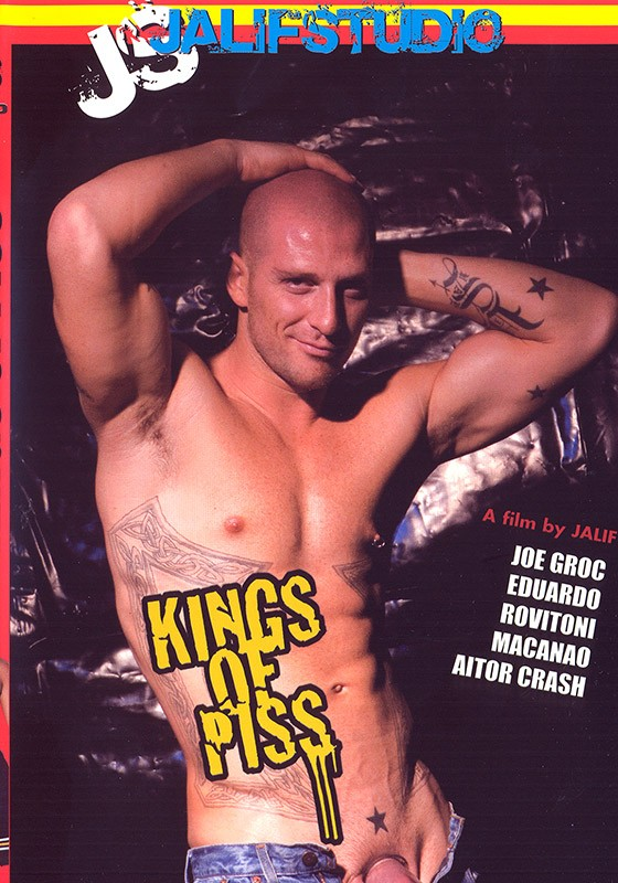 Kings of Piss DVD - Front