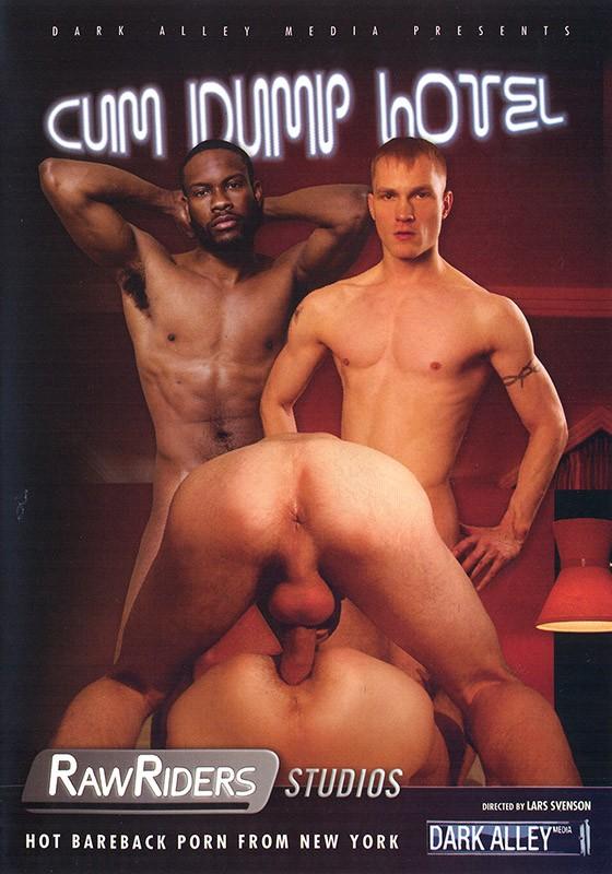Cum Dump Hotel DVD - Front