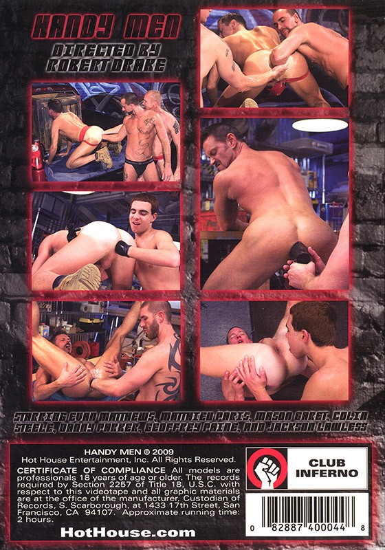 Handy Men DVD - Back