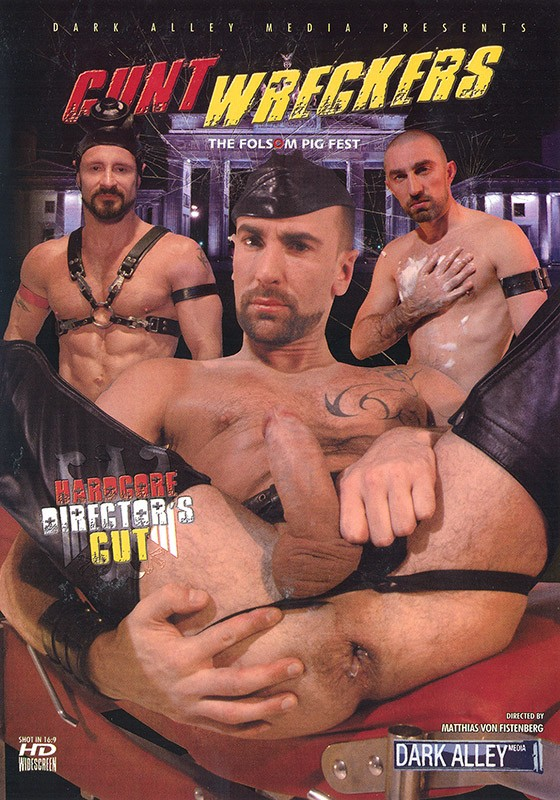 Cunt Wreckers DVD - Front