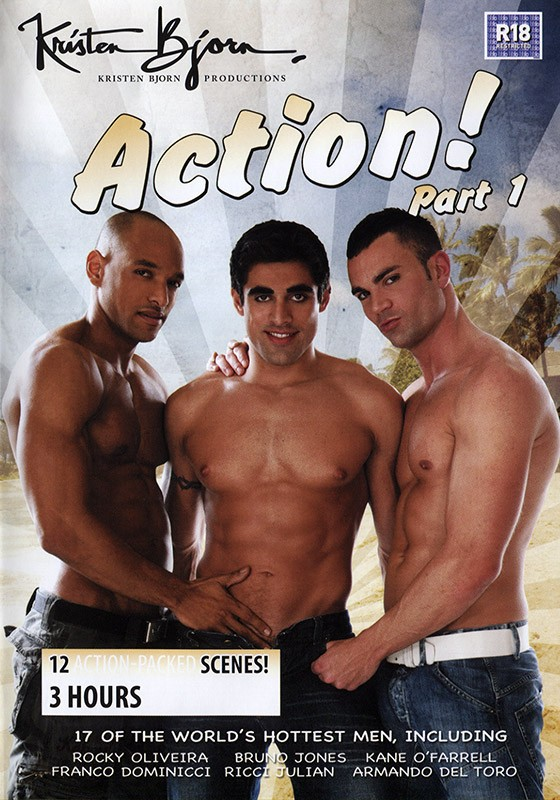 Action part 1 DVD - Front