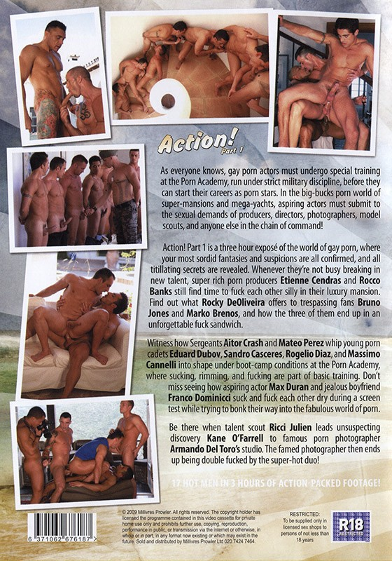 Action part 1 DVD - Back