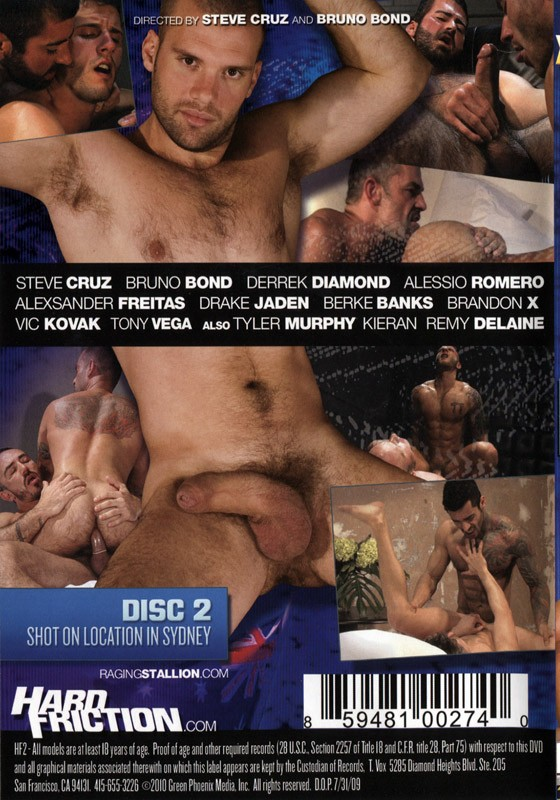 Hard Friction 2 DVD - Back
