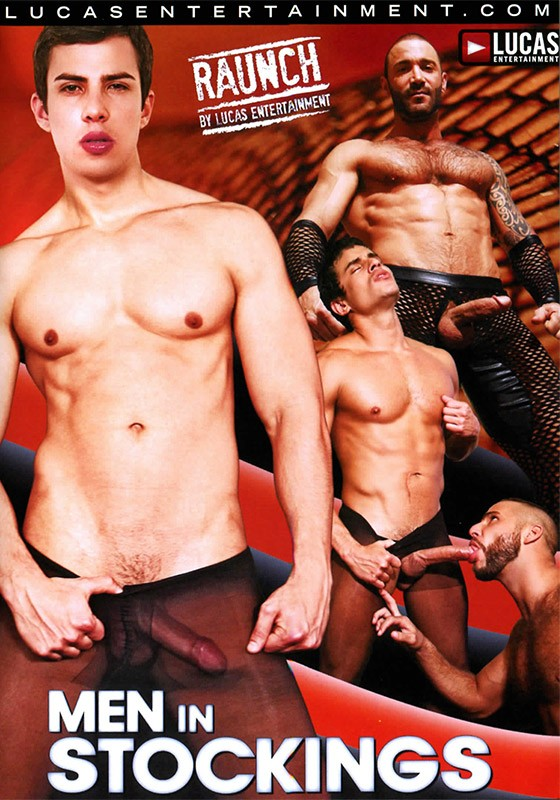 Men In Stockings DVD - Front
