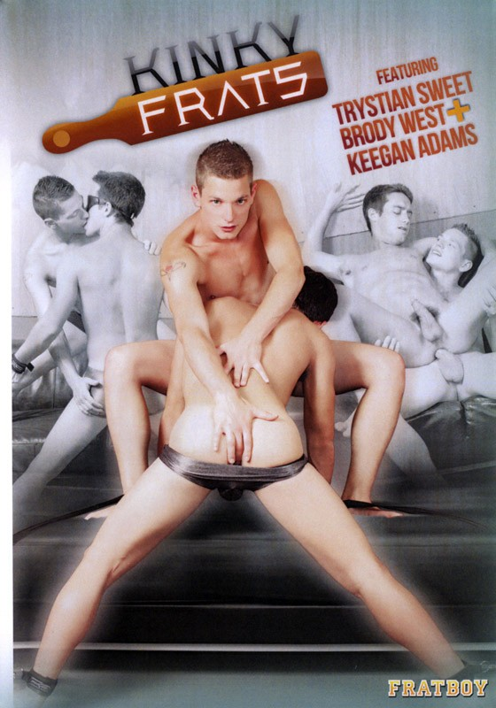 Kinky Frats DVD - Front