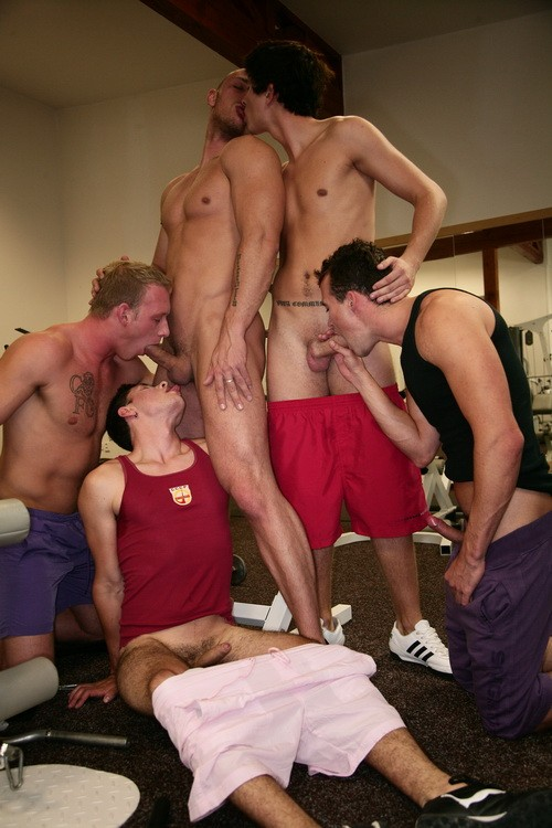 Bareback Football Orgy DVD - Gallery - 003