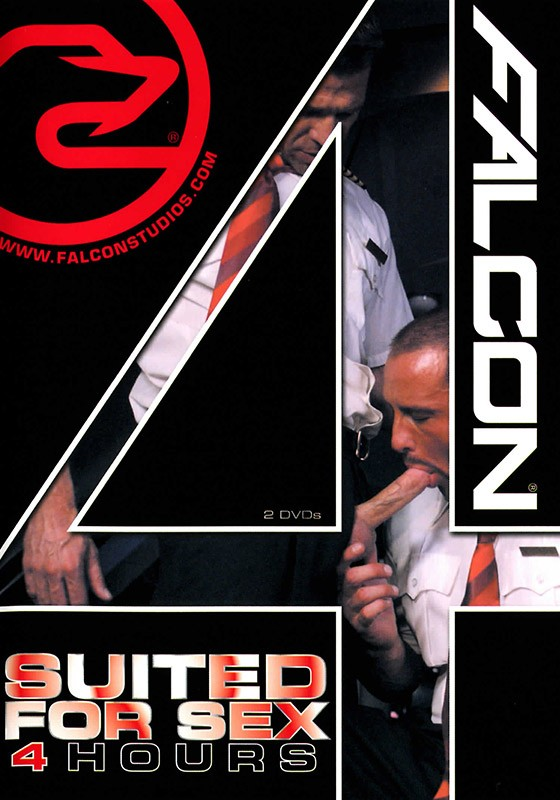 Falcon 4 Hours: Suited for Sex DVD - Front
