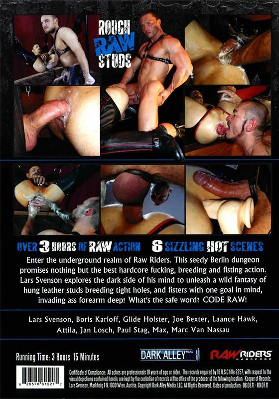 Code: Raw DVD - Back
