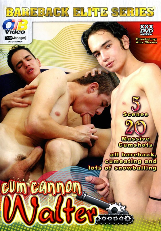 Cum Cannon Walter DVD - Front