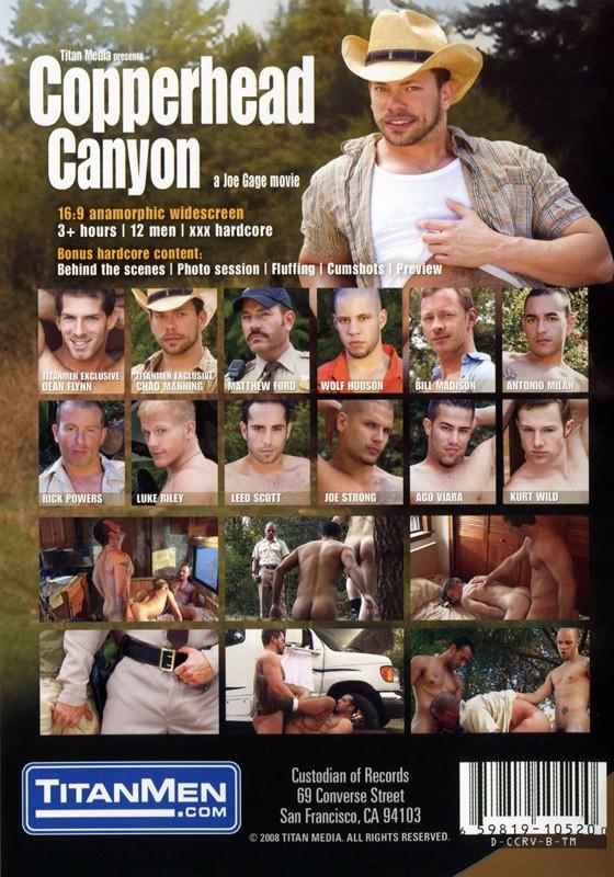 Copperhead Canyon DVD - Back