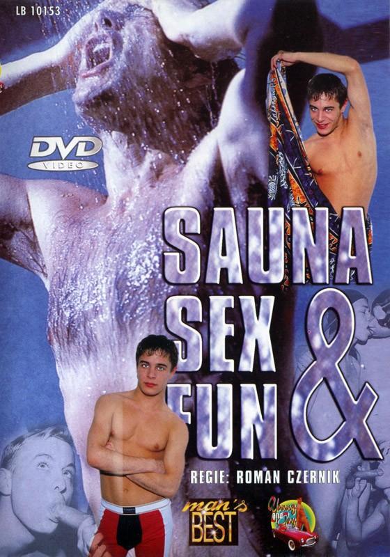 Sauna Sex & Fun DVD - Front