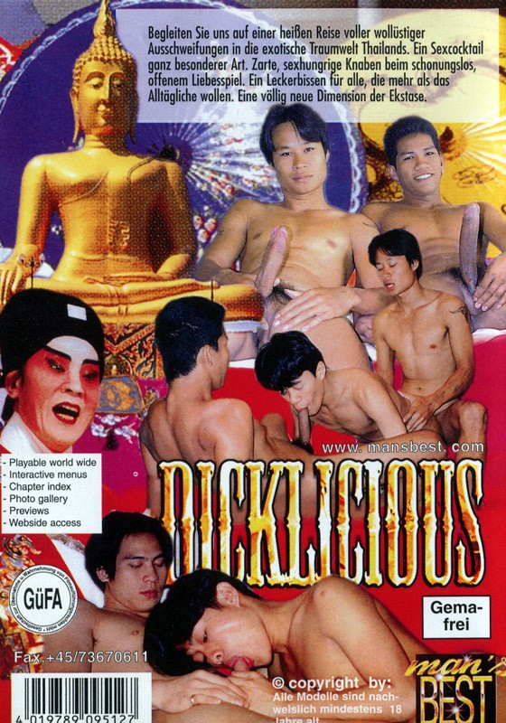Dicklicious (Man's Best) DVD - Back