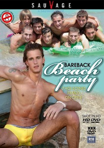 Bareback Beach Party (SauVage) DVDR (NC)