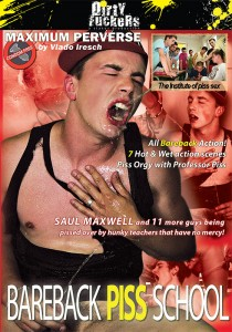 Bareback Piss School DVD (NC)