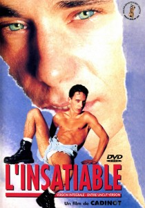 L'Insatiable DVD - Front
