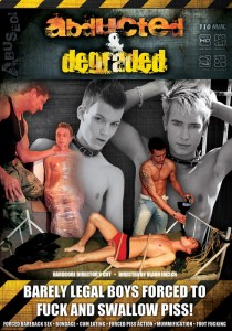 Abducted & Degraded (Director's Cut) DVD - Front