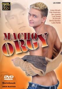 Macho Orgy DVDR (NC)