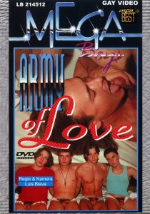 Army Of Love & Buro Hengste DVD - Front