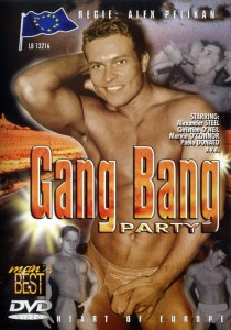 Gang Bang Party DVDR