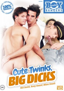 Cute Twinks, Big Dicks DVD