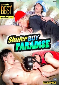Skater Boy Paradise DVD - Front