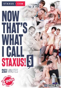 Now That's What I Call Staxus! 5 DVD - Front