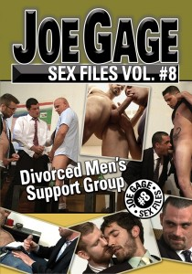 Joe Gage Sex Files vol. #8 Divorced Men's Support Group DVD (S)