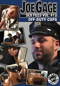 Joe Gage Sex Files vol. #13 Off-Duty Cops DVD (S)