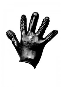 Oxballs Finger Fuck Textured Glove - Front