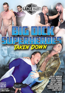 Big Dick Superheroes Taken Down DVD