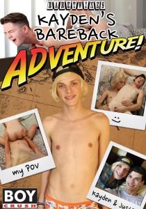 Kayden's Bareback Adventure! DVDR (NC)