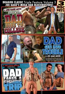 Dragon Media Classic Triple Feature 3: Joe Gage's Mega Dad Blockbusters! DVD