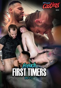 French First Timers Vol. 3 DVD