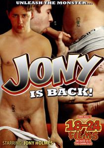 Jony is Back! DVD (NC)